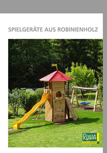 RUWA Blätterkatalog Robinienspielgeräte
