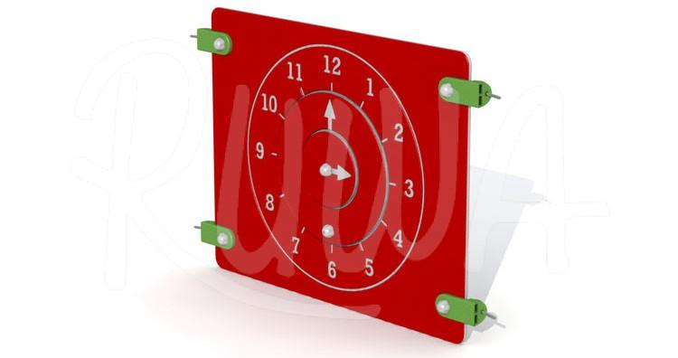 """Pädagogische Spieltafel """"Uhr"""""""