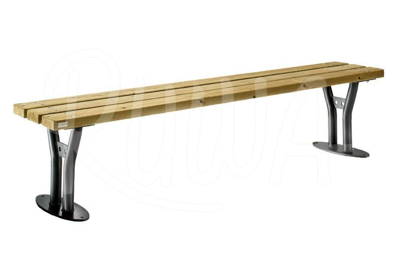 sitzbank type 926 ohne r ckenlehne ruwa gmbh. Black Bedroom Furniture Sets. Home Design Ideas