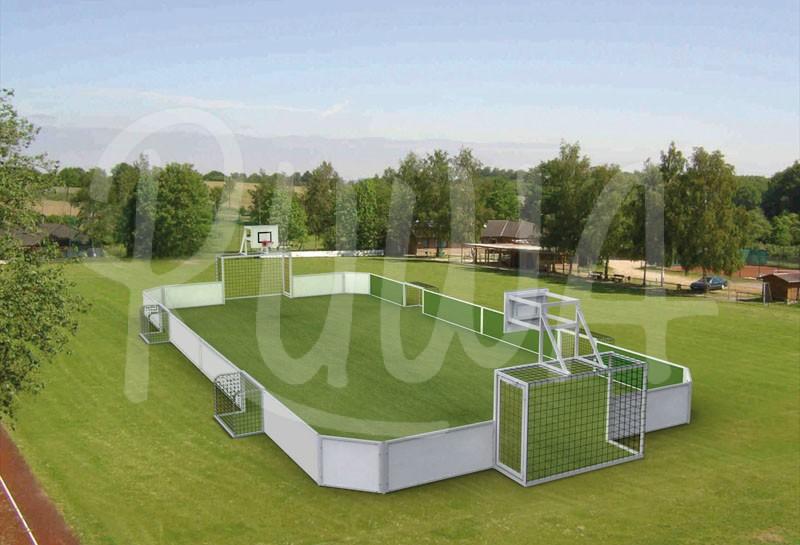 "Soccer-Court ""Arena stationär"""