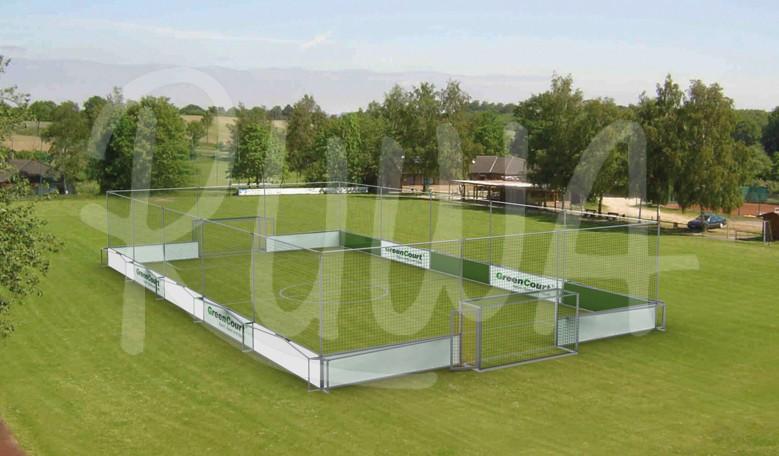 "Soccer-Court ""mobiles Bandensystem"""