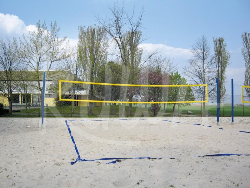 Volleyball-Netzpfosten Beach