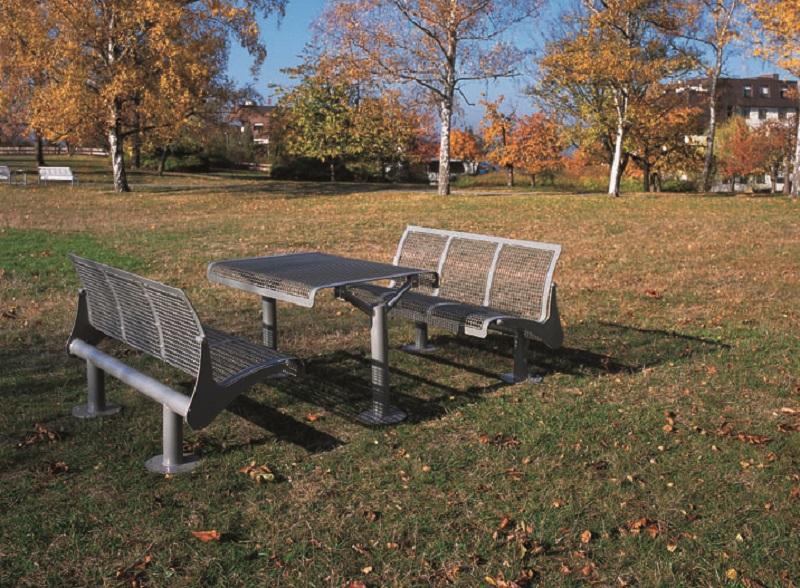 Tisch und Sitzbank Type 801