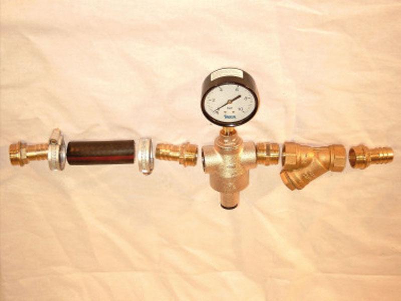 Handpumpe, Pumpenständer und Anschlussgarnitur - Bild 2