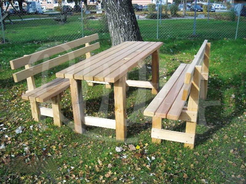 Tisch und Bank Type 3917 - Bild 1