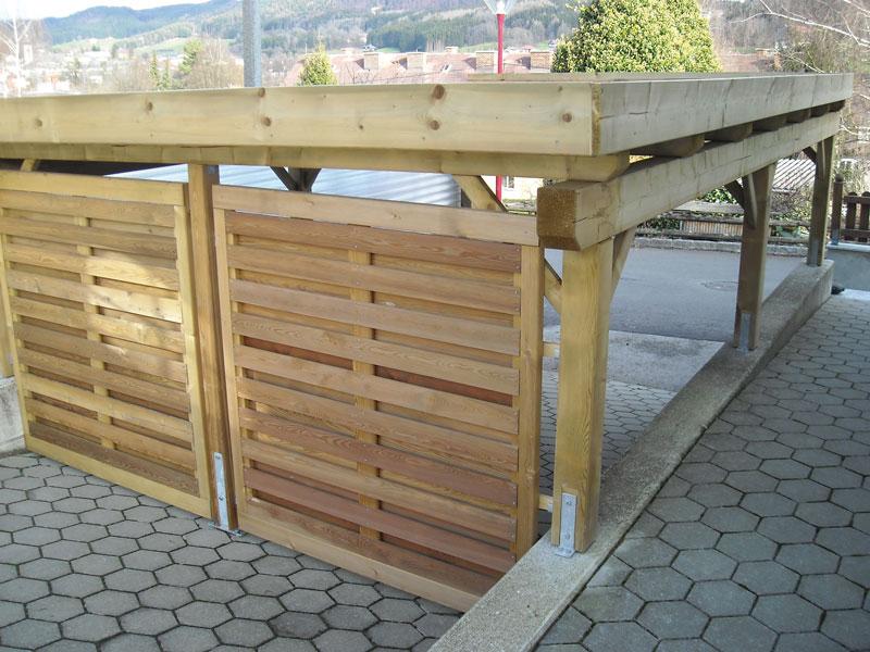 Holz Carport - Bild 2
