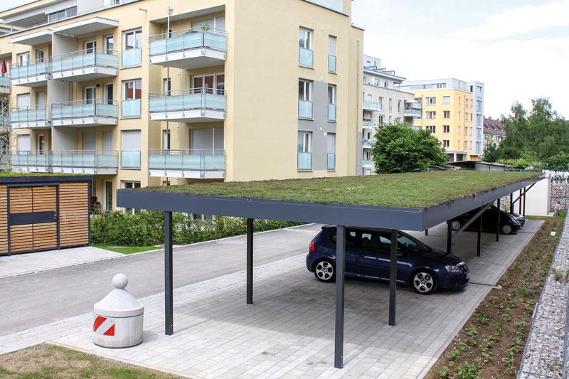 Das Dach Ihres Carports aus Stahl