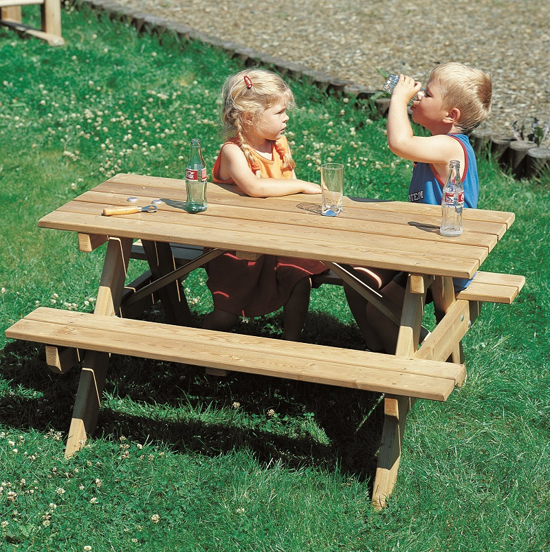 Kinderpicknicktisch Type 3932
