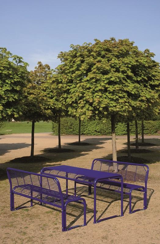 Sitzbank, Hockerbank, Tisch, Sitz & Hocker Type 803
