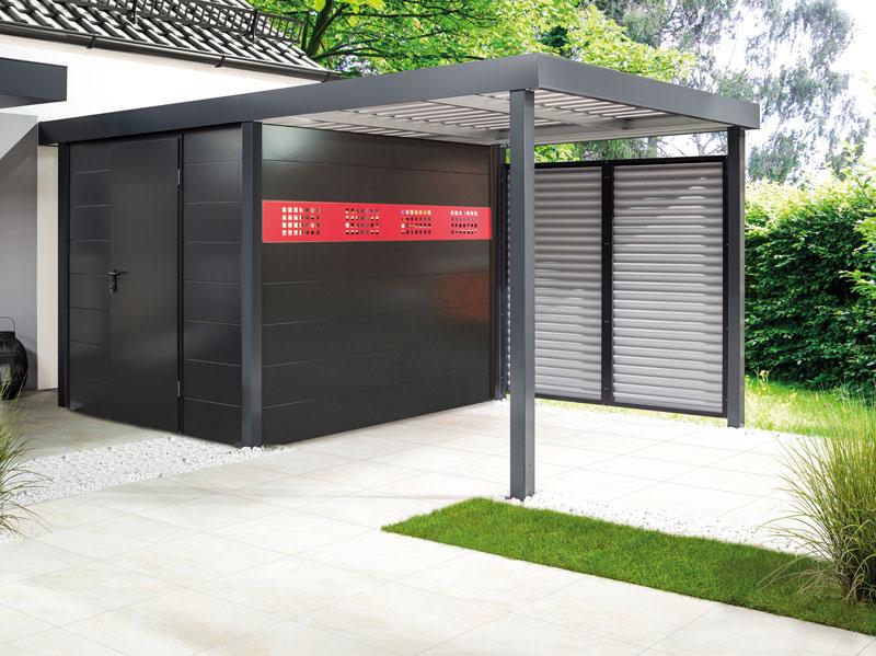 carport inkl ger ter ume aus stahl ruwa gmbh. Black Bedroom Furniture Sets. Home Design Ideas