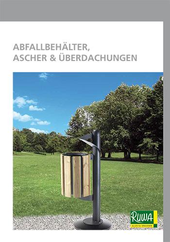 Blätterkatalog Ruwa Abfallbehälter, Ascher & Überdachungen