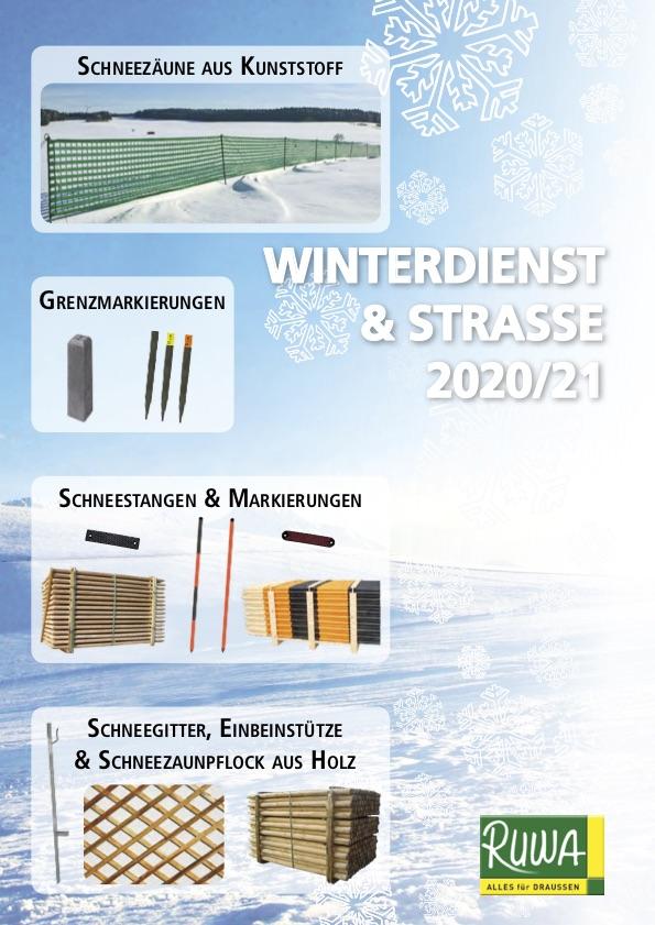 RUWA Blätterkatalog Winterdienst