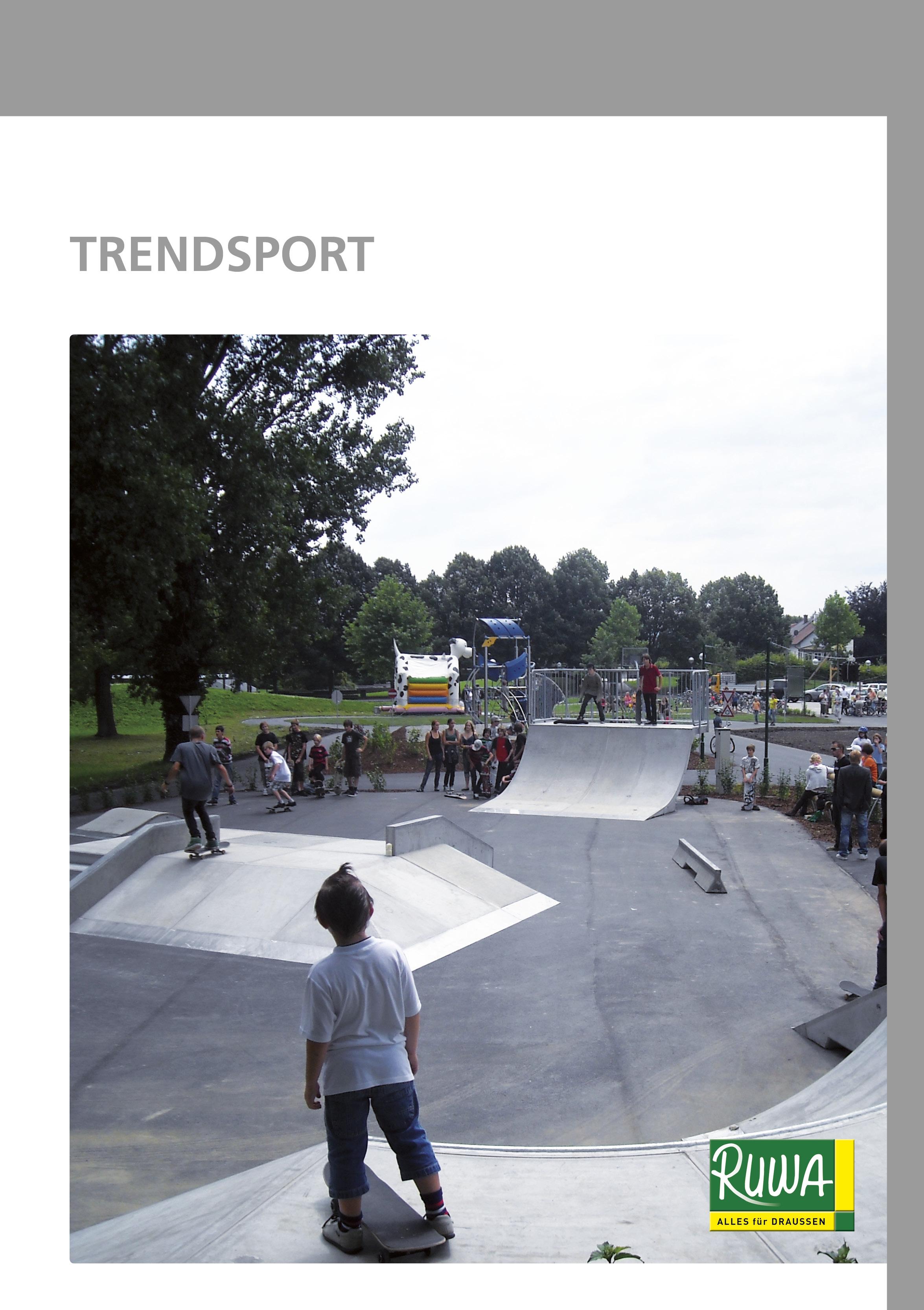 RUWA Blätterkatalog Trendsport