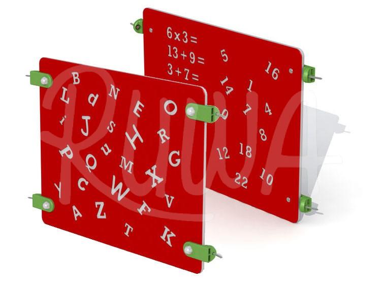 """Pädagogische Spieltafel """"ABC & 123"""""""