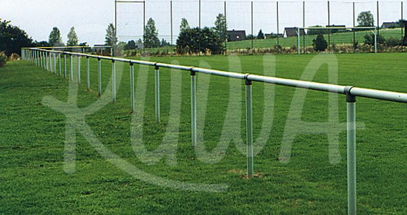 Barriere – Sperrschutz aus Stahlrohr