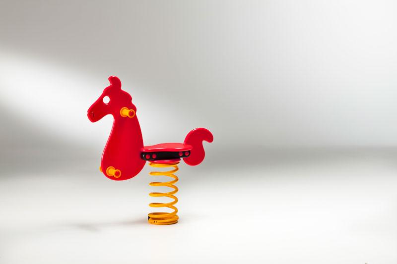 "Federwipptiere ""Pferd"" - Bild 1"