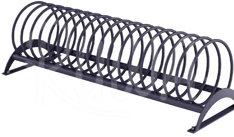 Fahrradständer Modell 1020 A zweiseitig aus Stahl - Bild 1