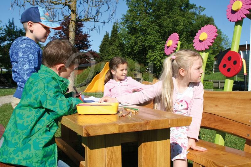 Kindersitzbank und Tisch Type 956 - Bild 2