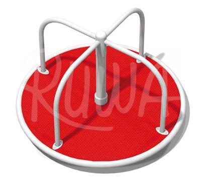 Stehkarussell mit Kunststoffplatte