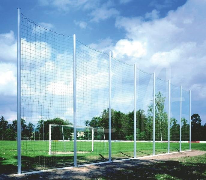 Ballfangnetz mit Alusteher