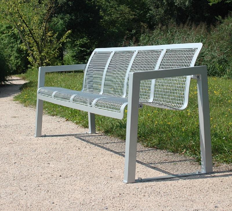 Drahtgitter – Sitzbank Type 802