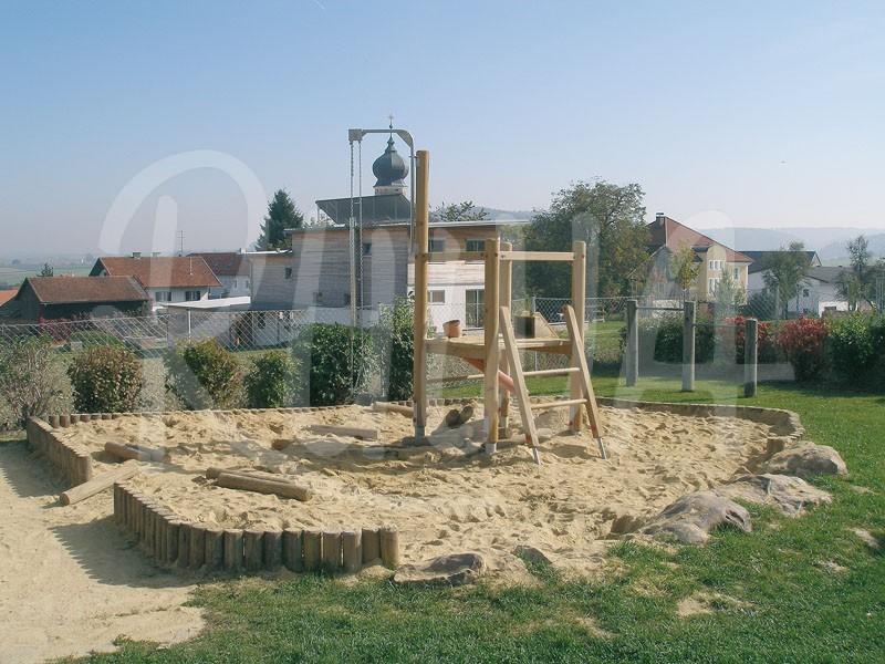 Sand für Sandkasten (Quarzsand / Flußsandgemisch)