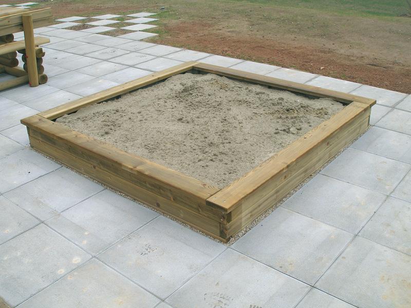 Sandkasten KH 9/11cm