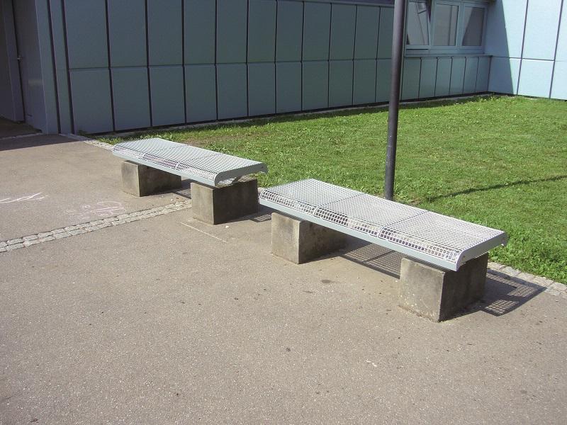 Drahtgitter Sitzbänke, Sitzgruppen & Tische Type 815 - Bild 2