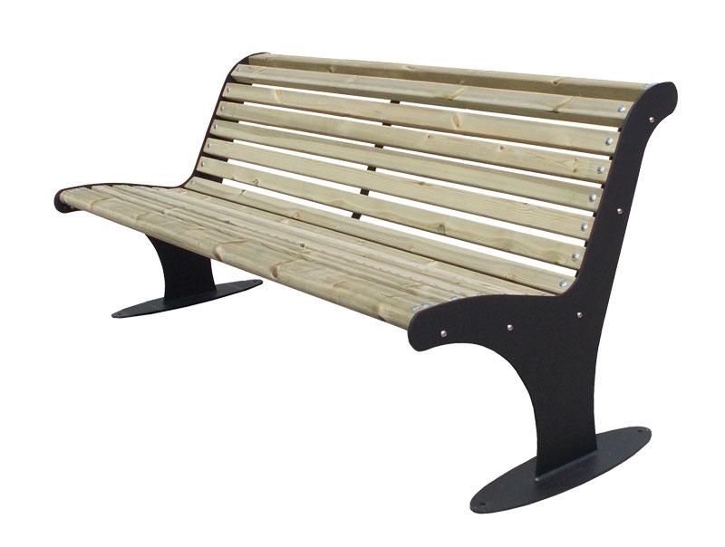 Sitzbank Type 910 Holzbelattung - Bild 1