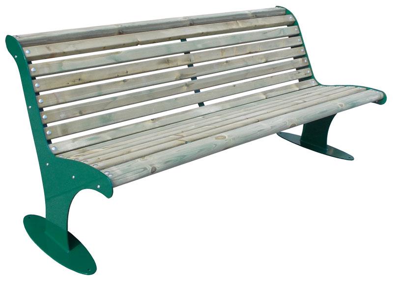 Sitzbank Type 910 Holzbelattung - Bild 2
