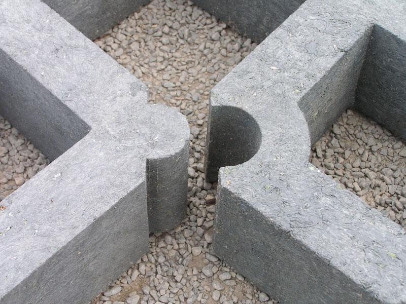 Rasengittersteine aus Recyclingmaterial - Bild 2