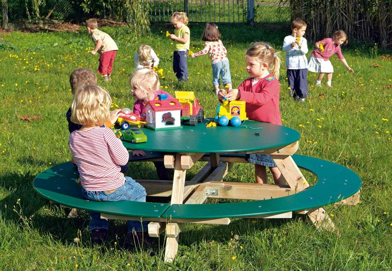 Picknicktisch mit Sitzbank Type 3912 - Bild 2